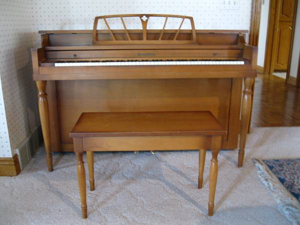 Henry F Miller Spinet Piano For Sale