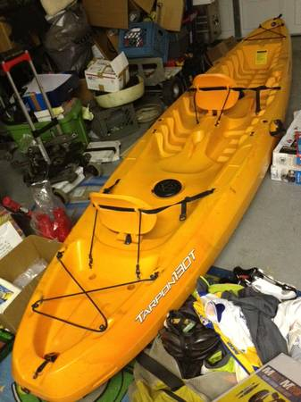 Tandem Kayak Wilderness System Tarpon 130T For Sale or Trade for SUP - $650 (West Shore)