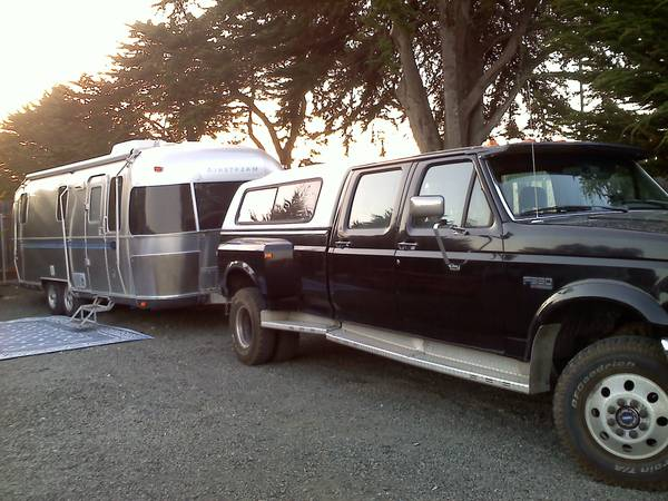 2000 Airstream  1995 Ford F350 Long Bed  - $28000 (Silver Springs, NV)