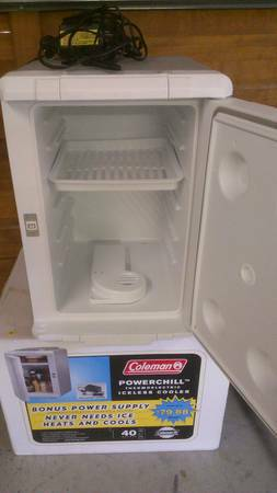 Coleman Powerchill thermoelectric iceless cooler - $30 (south lake tahoe)