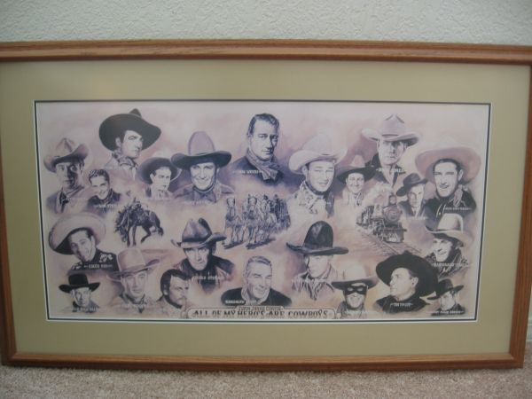All My Heros Are Cowboys by Ivan Jesse Curtis - $100 (Reno, NV)