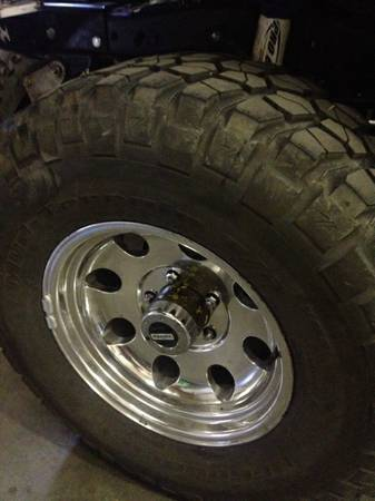 jeep cj rims and tires - $1000 (reno)