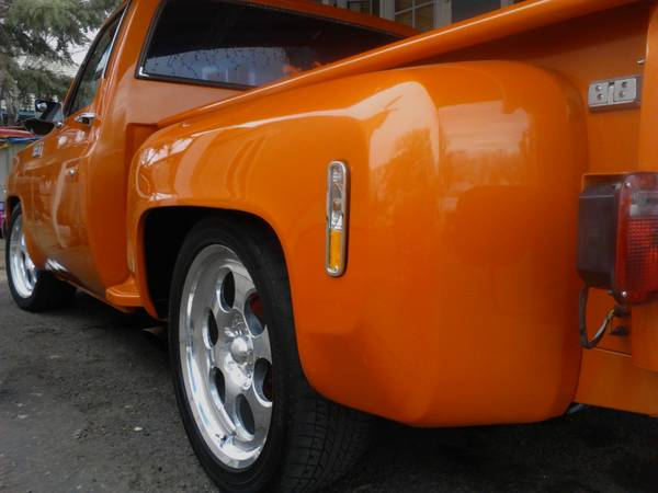 77 chevy c10 stepside FOR SAlE OR TRADE - $10000 (sparks)