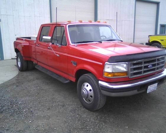 1997 Ford Diesel, Dually - $6800 (Chico)