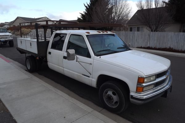 2000 chevy 3500 dually for sale