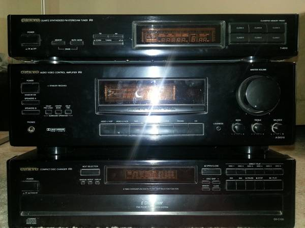 onkyo home theater system - $100 (Carson)