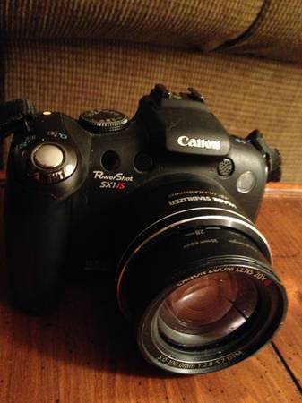 Canon Powershot SX1 IS - $350 (RenoCarson)