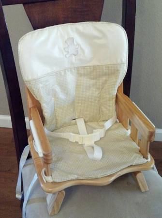 Eddie Bauer Wood Booster Seat For Sale