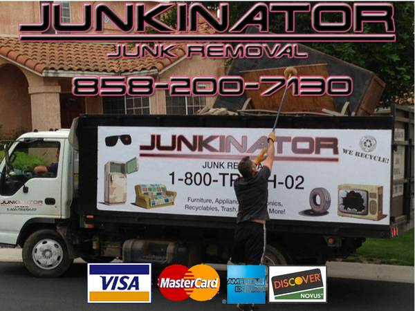 JUNKINATOR hauling and junk removal services