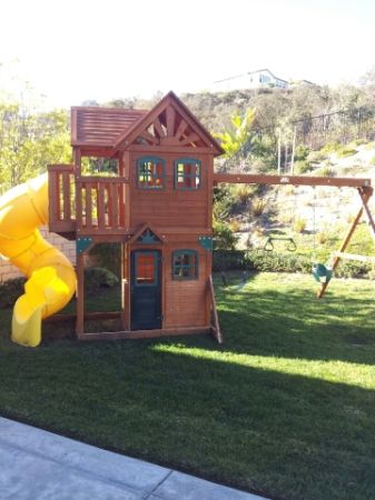 AFFORDABLE PLAYSETSWINGSET ASSEMBLY AND INSTALLATION SERVICE (All San Diego County)