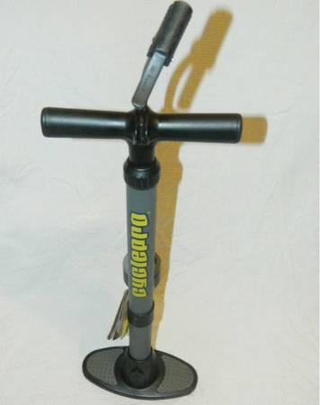 CYCLEPRO AIR PUMP, STILL IN GREAT CONDITION FITS IN PRESTA AND SCHRADER VALVES. - $10 (ESCONDIDO)