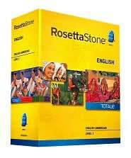 Rosetta Stone Homeschool English (American) Level 1 w Work Book - $99 (San Diego)