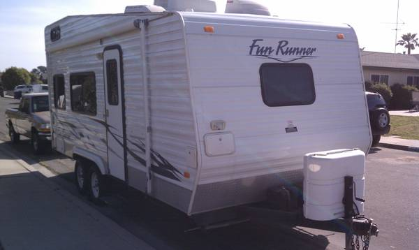 2006 20 Carson Fun Runner Toy Hauler Trailer - $9500 (Mira Mesa)