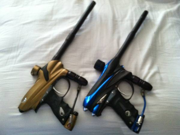 Dye DMC Proto PM6 paintball guns - $1 (Mira Mesa)