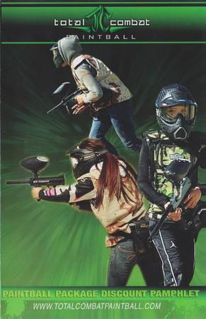 Total Combat Paintball Package Deal (Chula Vista)