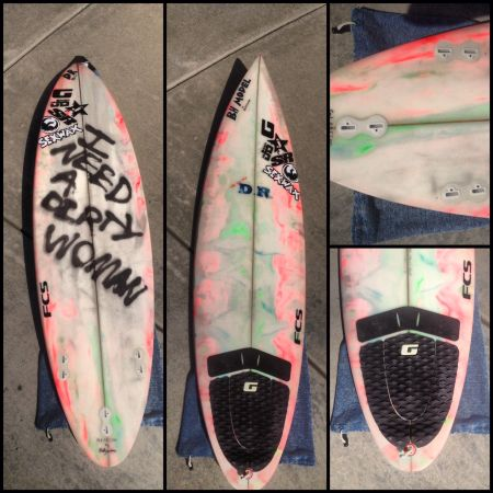 NEW 63 DR pintail Surfboard - $325 (Del Mar)