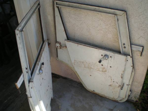 Old JeepWillys Hard Top Myers Metal Doors - $1 (Valley Center Escondido)