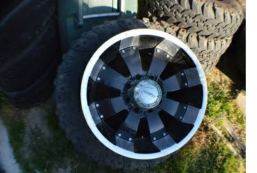 20x10 RIMS39.5 SUPER SWAMPERS - $1400 (CHULA VISTA)