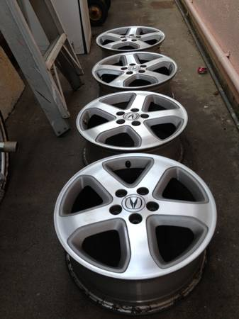 Acura wheels TL  CL type S  - $350 (San Diego )