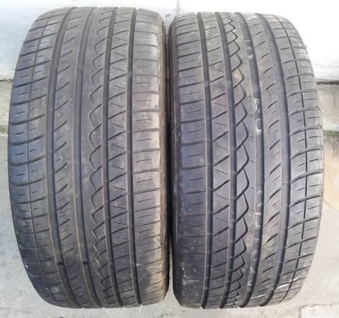 2354517 Yokohama YK520 Tires - Set of 2 - $65 (San Diego)