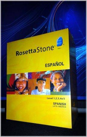 ROSETTA STONE SPANISH LEVELS 12345 COMPLETE NEW BOXSET WITH HEADPHONES - $199 (SAN CLEMENTE or shipping)