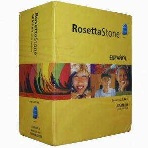 ROSETTA STONE Spanish levels 1-5 BOXSET sealed new with headset  - $199 (San Clemente )
