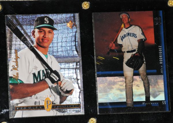 ALEX RODRIGUEZ ROOKIE CARDS -SP, Appleton Foxes - $20 (SERRA MESA)