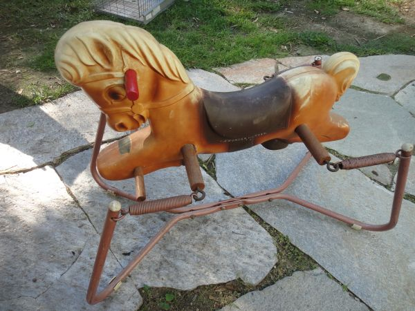 Vintage Antique 50s 60s Wonder Horse Rocking Horse Spring Rocker - $77 (Miramar Lake area of SD)