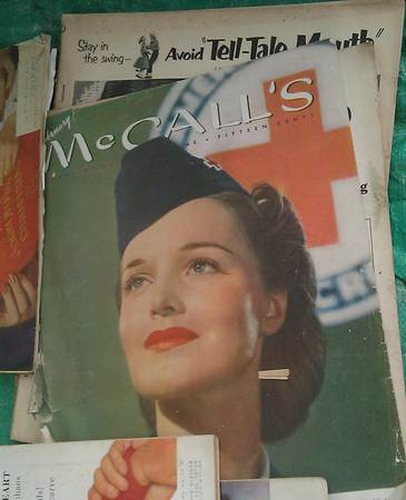 Old magazines ColliersLife Look Popular Mechanics and more (San Diego)