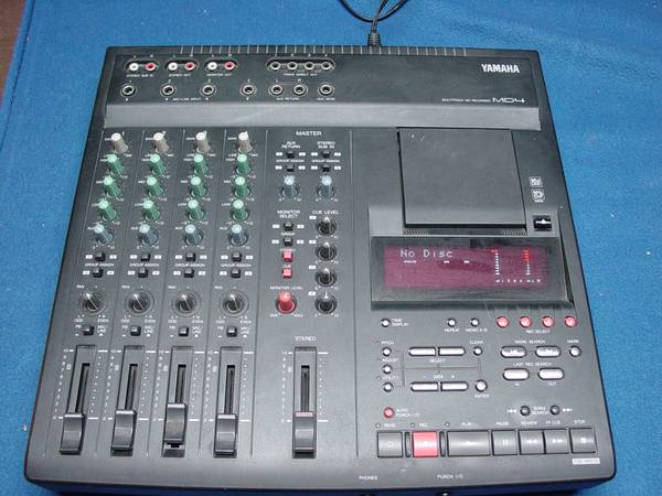 Yamaha MD4 Multitrack digital 4 track recorder, works good (Oceanside (Tri-CityShadowridge Area))