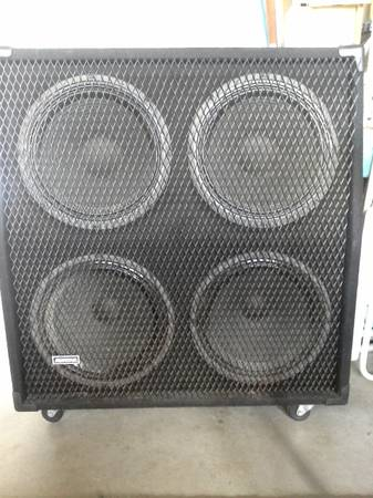 Avatar 4x12 cab weminence legends(50wattx2)(75wattx2) good shape - $260 (san diego)