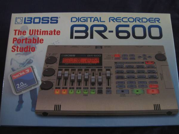 Boss Digital Recorder BR-600 (Need to Sell this Week) - $150 (Rancho San Diego)