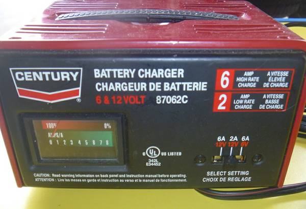 Used Car Batteries Near Me >> Century battery charger | eSpotted