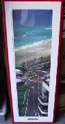 Thunder in Paradise 1995 PPG Indy Car Wolrd Series Framed Picture -  100  point loma