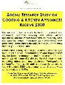 300 for Participation in Study on Major Kitchen Appliances  San Diego and Surrounding Areas