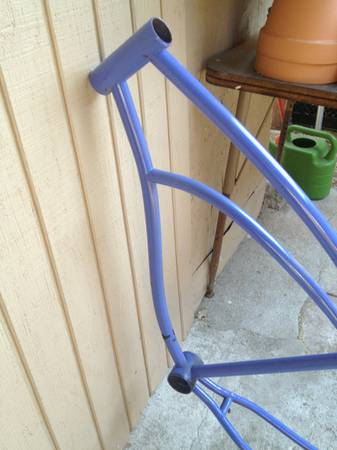Vintage 50s JC Higgins Jet Flow bicycle Frame - $220 (Goleta)
