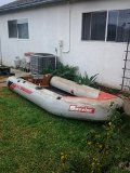 moving must sell 10ft Inflatable Boat wEngine  - $750 (Camarillo)