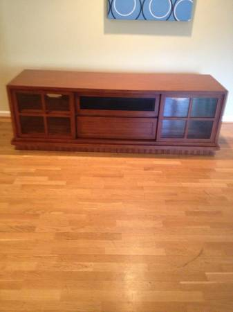 Fabulous Home Theater Media Console for Large TVs - $950 (Montecito)