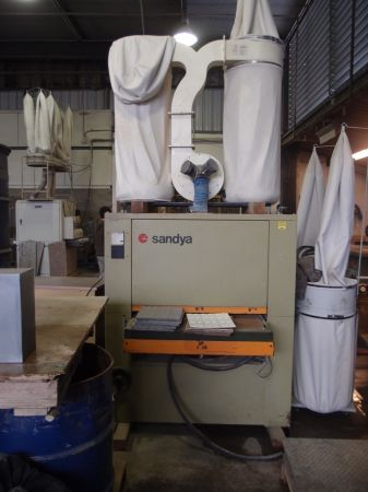 SCMI Sandya UNO Wide Belt Sander w Oasis Dust Collector 1687A - $8500 (Goleta)