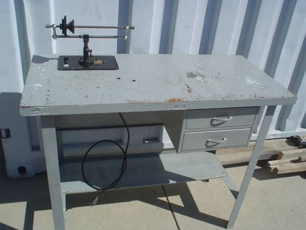 Levin Lathe Wood Top Bench Motor Countershaft - $250 (Buellton)