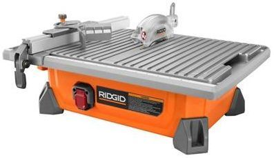 Ridgid 7 Inch Job Site Wet Tile Saw R4020 - $170 (Goleta)
