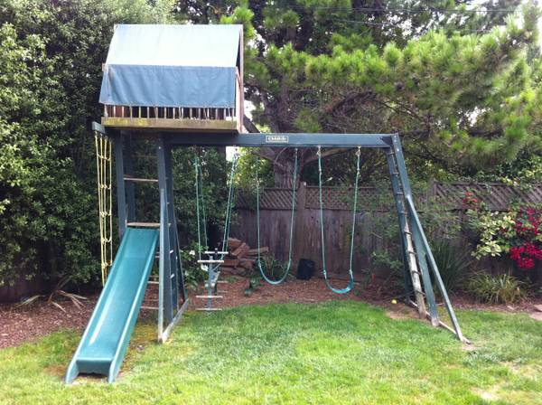 Play structure, swing set, fort - $350 (Santa Barbara)
