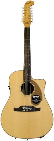 FENDER VILLAGER 12 STRING ACOUSTIC GUITAR - $375 (LA CUMBRE)