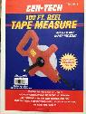100 ft reel tape measure -  15  santa barbara