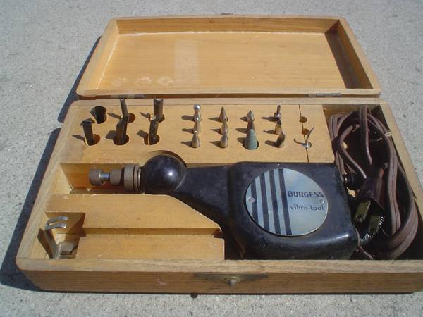 Burgess Vibro-Tool -Vintage Electric Wood Carving Tool (Buellton)