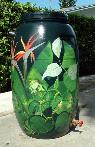 celebrities wanted to paint rain barrels  so cal