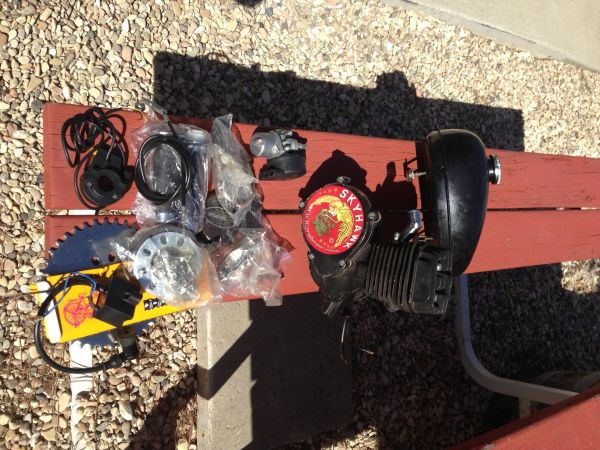 Skyhawk Bicycle Engine For Sale