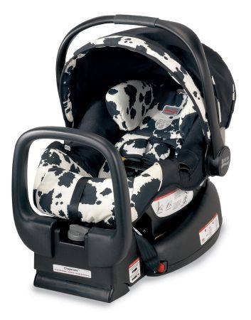 britax car seat cow print for sale. Black Bedroom Furniture Sets. Home Design Ideas