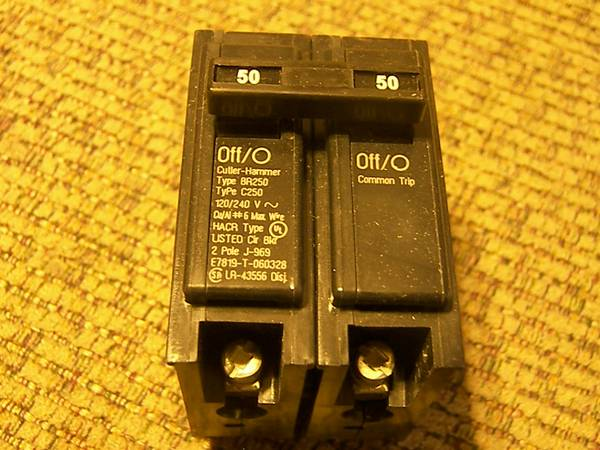 Cutler Hammer and Siemens  2 Pole and Quad Breakers - $1 (Show Low)