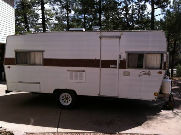 18 Shasta travel trailer - $800 (Lakeside, AZ)